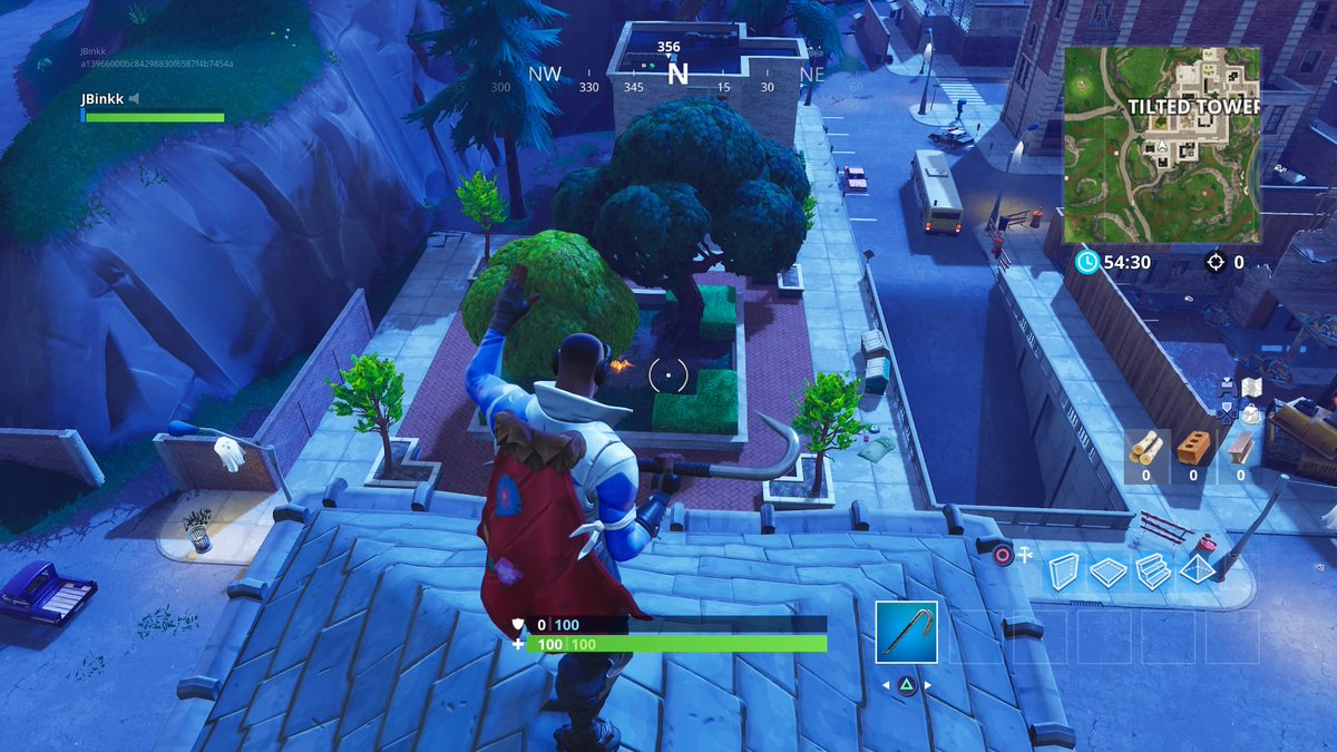 Fortnite Dance On Top Of A Clock Tower Challenge Guide Dot Esports