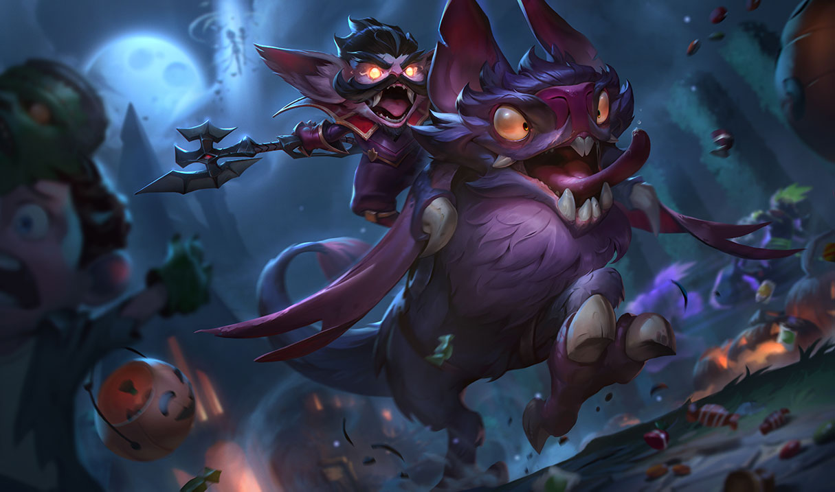k/da and halloween skins arriving in league of legends patch 8.21