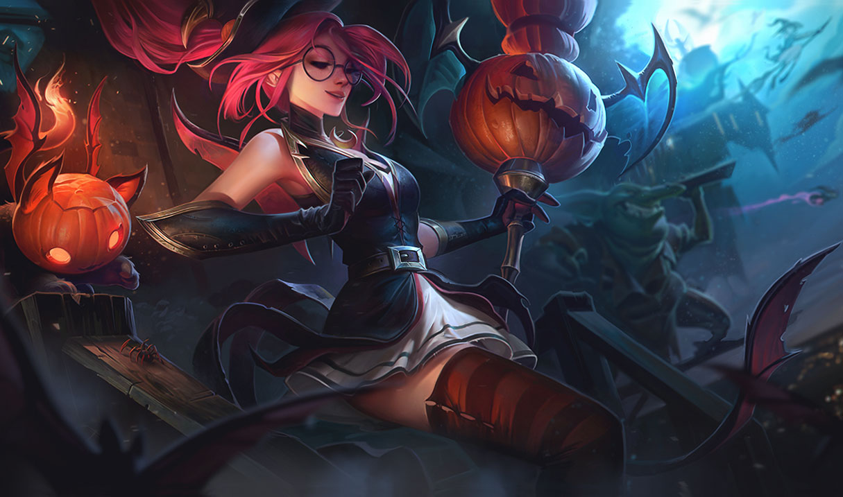 K/DA And Halloween Skins Arriving In League Of Legends