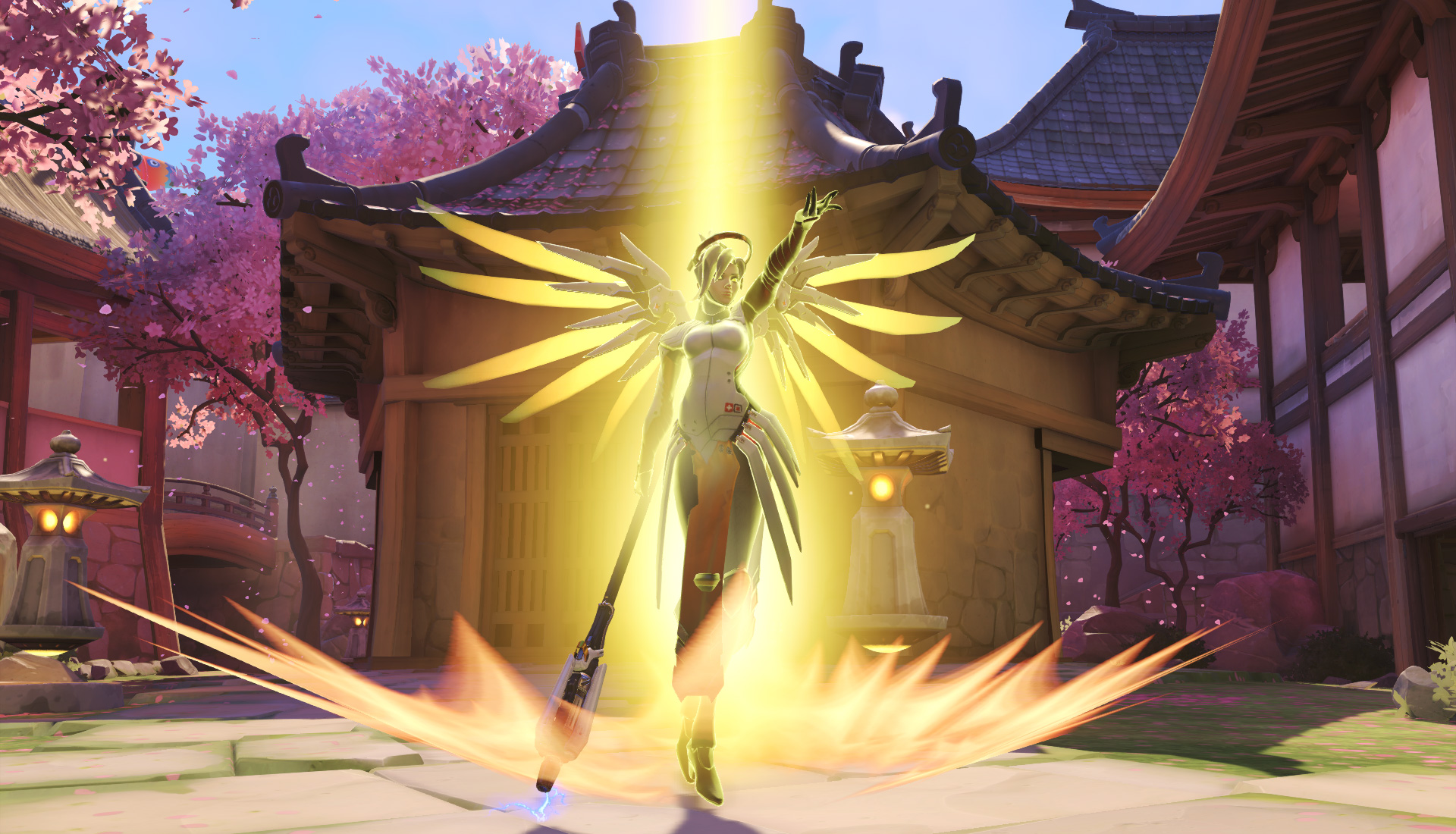 Mercy, Roadhog, and Symmetra buffed in new Overwatch PTR patch