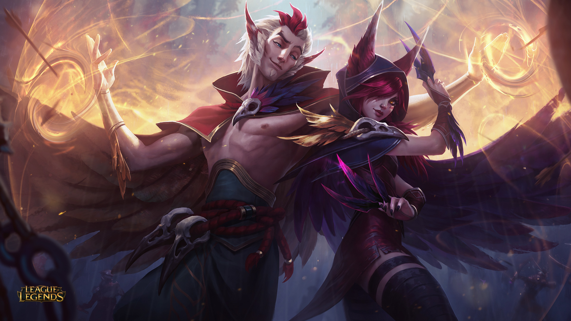 Skts Bang Promises To Do A Xayah And Rakan Cosplay With