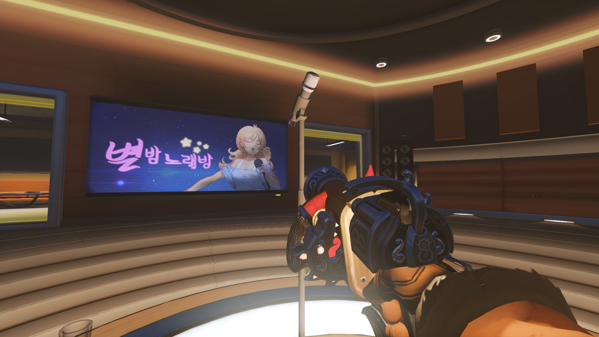 Torbjörn And McCree Can Now Use The Karaoke Machine On