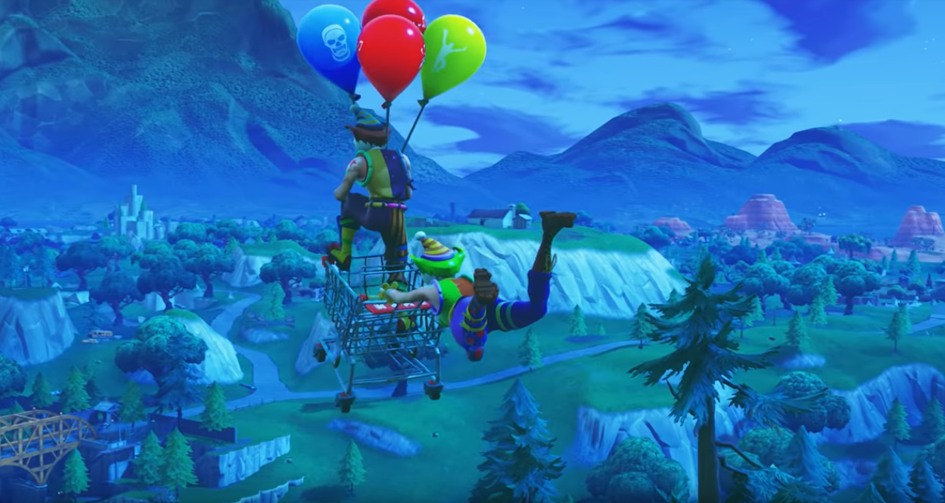 Fortnite V6 21 Update Adds Balloons Vaults Semi Auto Sniper Guided