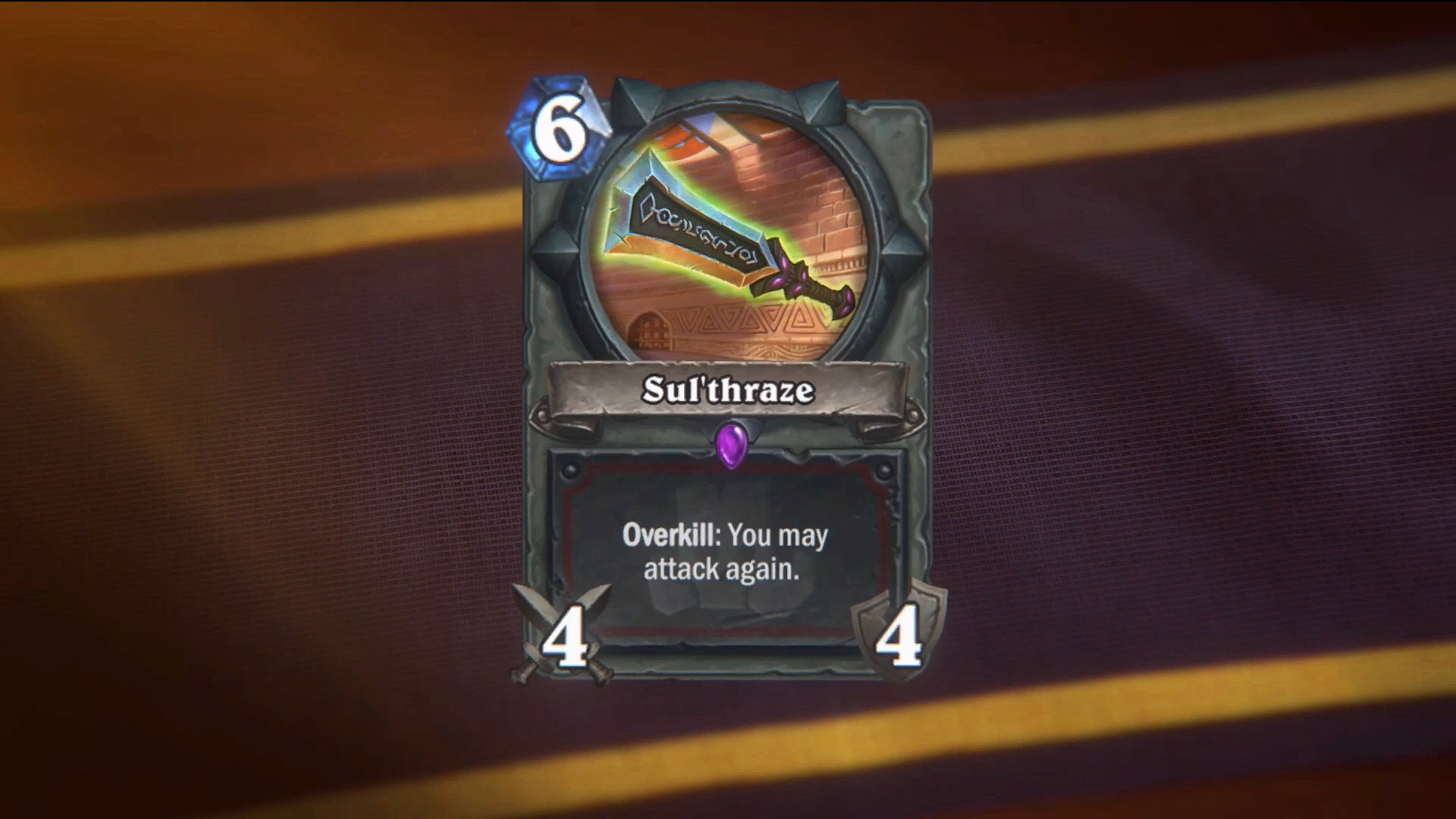Hearthstone's Next Expansion Has A 25-Mana Card