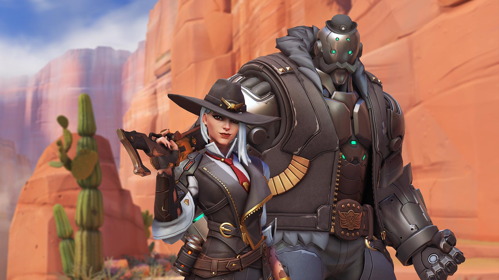 Blizzard reveals skins and concept art for Ashe, Overwatch's new hero