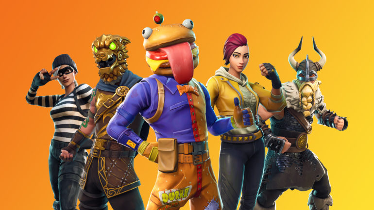 Fortnite_blog_state-of-mobile_BR05_News_Featured_16_9_EvergreenLine-Up_Orange-1920x1080-9fe056edd3d98e03eaca346587132603a522a900
