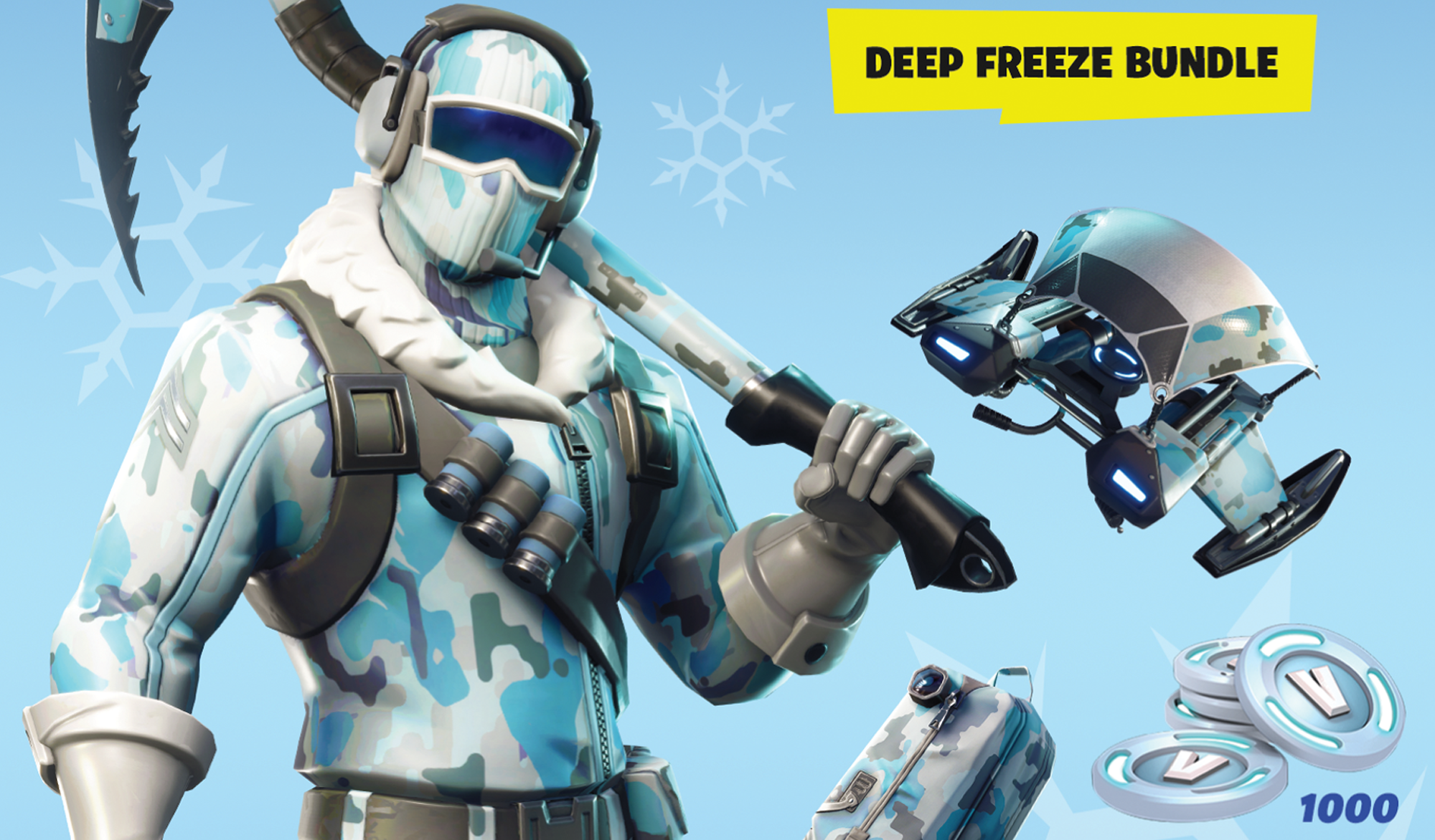 deep freeze bundle is already available for some fortnite players - fortnite save the world 20 euro