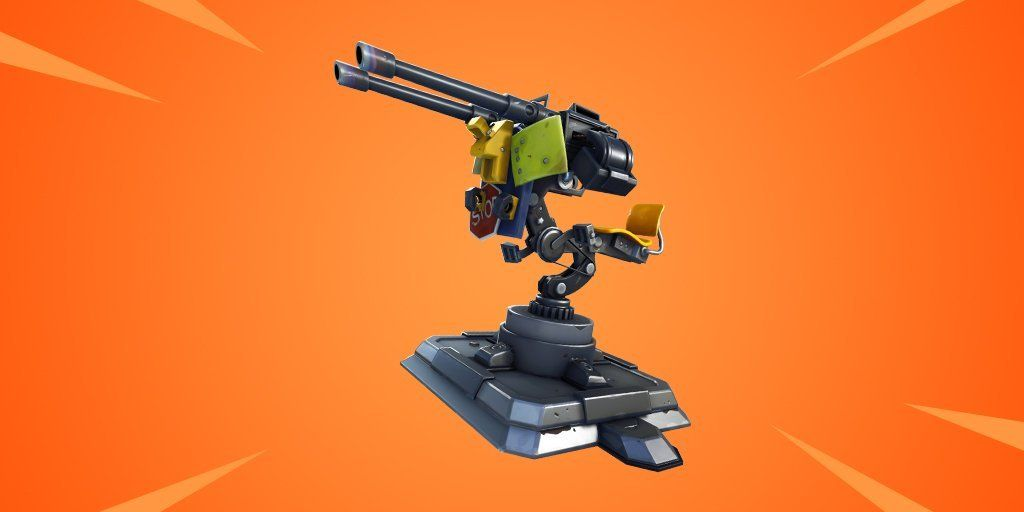 Mounted Turrets In Fortnite Have Received A Nerf Dot Esports