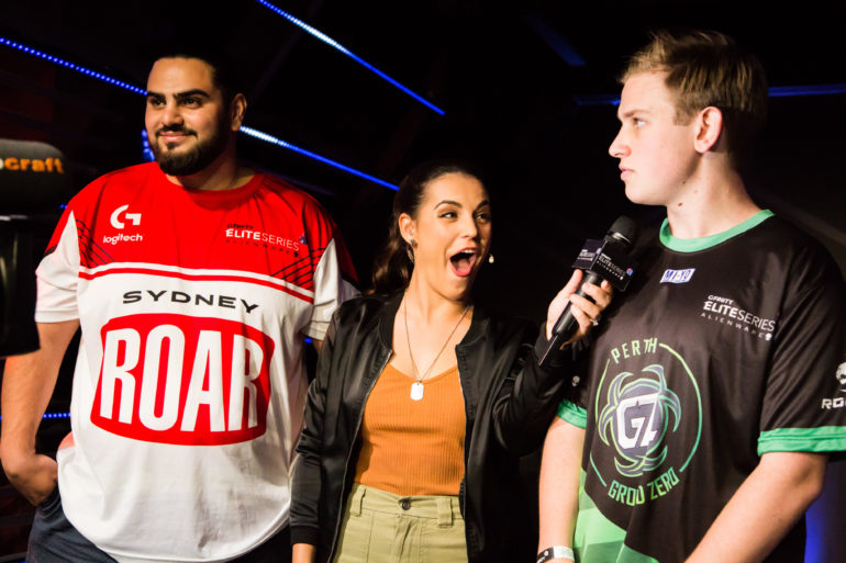 Sydney Roar and Perth Ground Zero Gfinity Elite Series Week 3