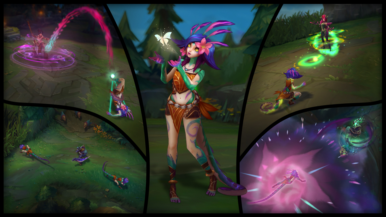 Neeko's abilities revealed—they're like Jhin, LeBlanc, and