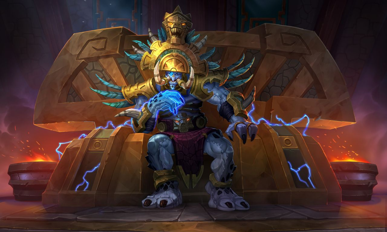 New Hearthstone card revealed: High Priest Thekal   Dot ...