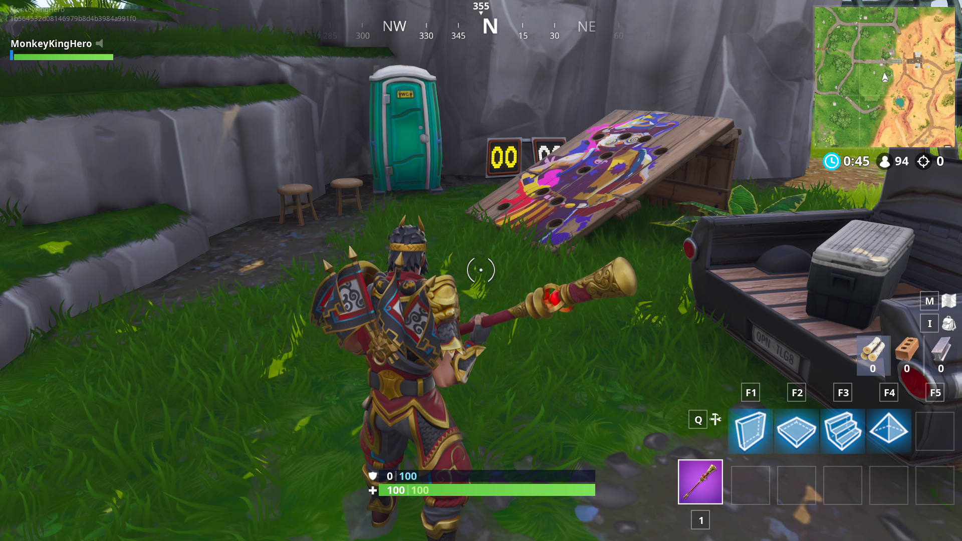 where to find the carnival clown boards in fortnite s season six