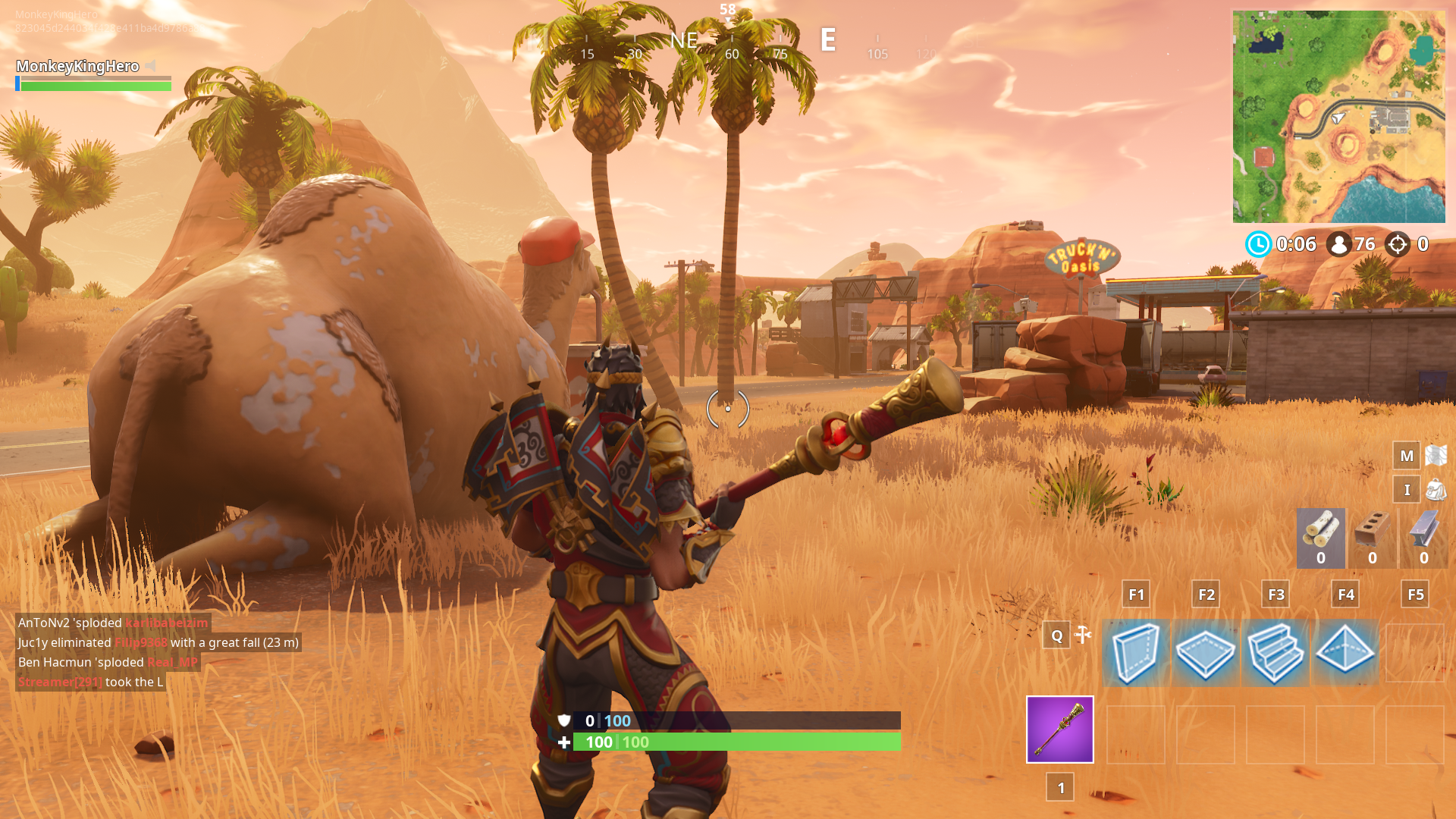 Where To Find The Viking Ship Camel And Crashed Battle Bus In