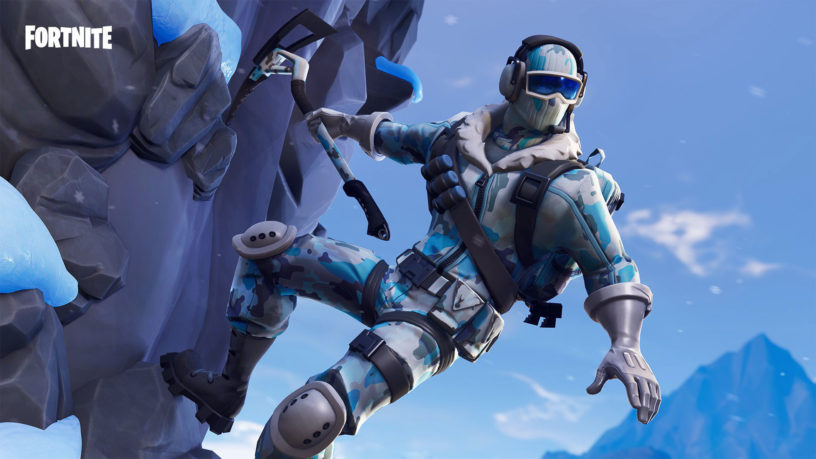 an iceberg seems to be approaching the fortnite battle royale
