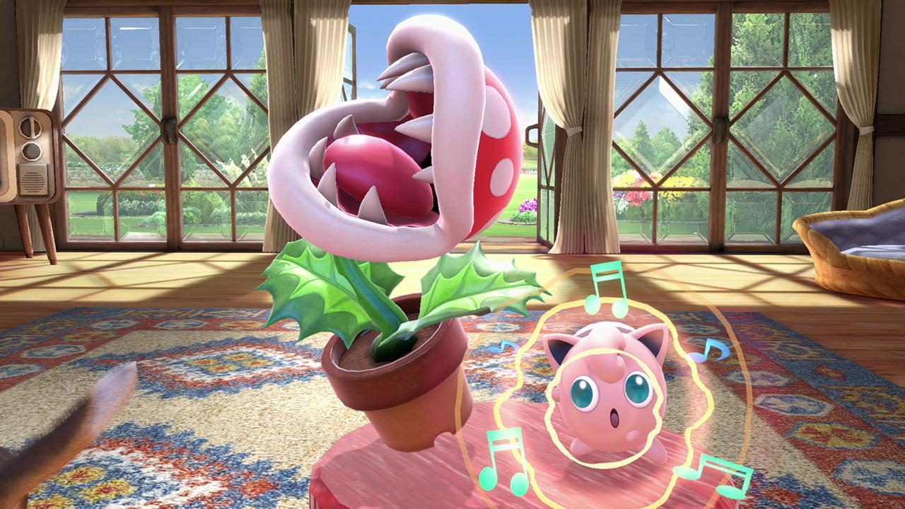 Piranha Plant isn't part of Smash Bros  Ultimate's DLC