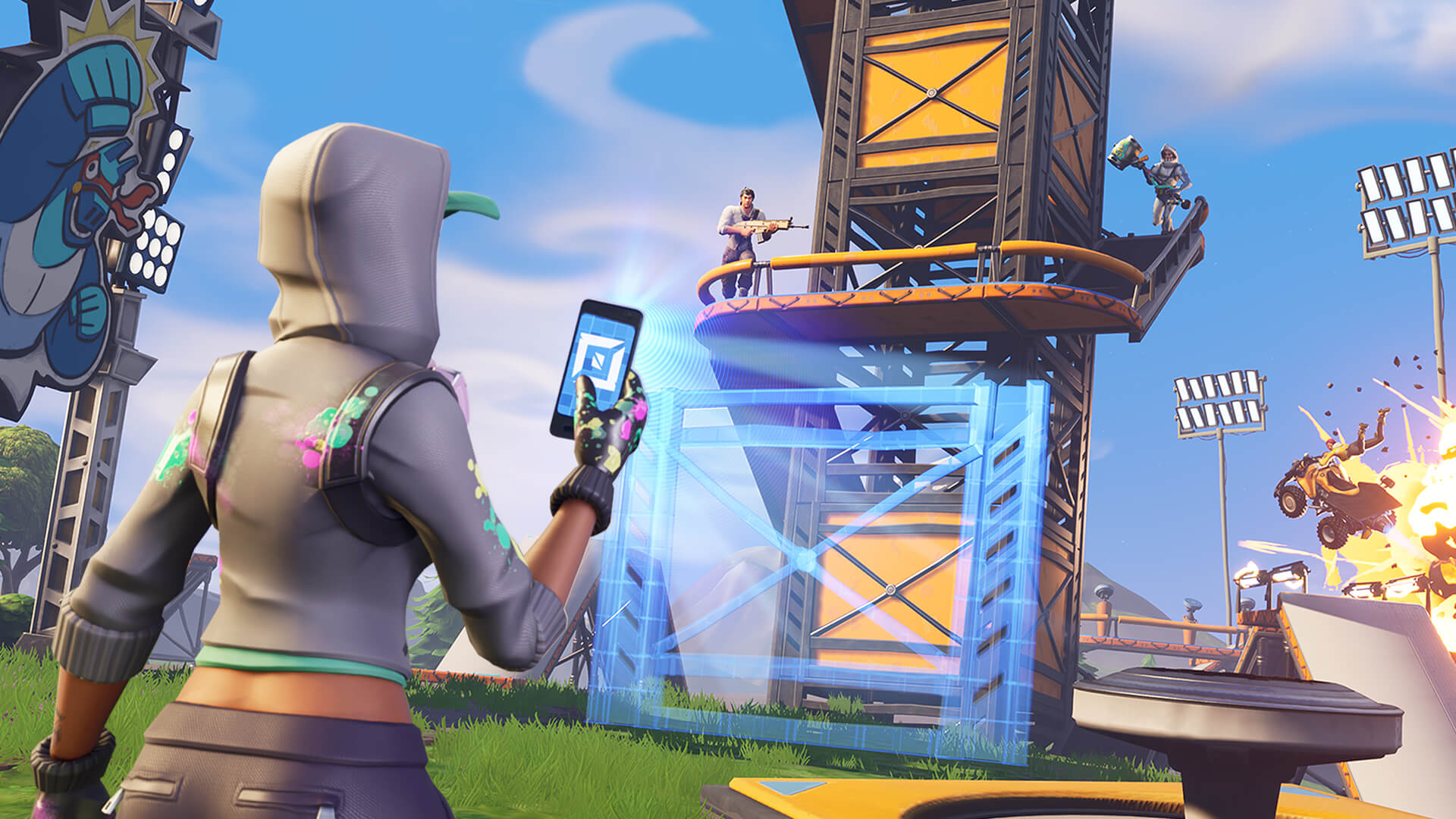 fortnite players from the middle east are asking for servers in the region - how to turn on ping in fortnite pc