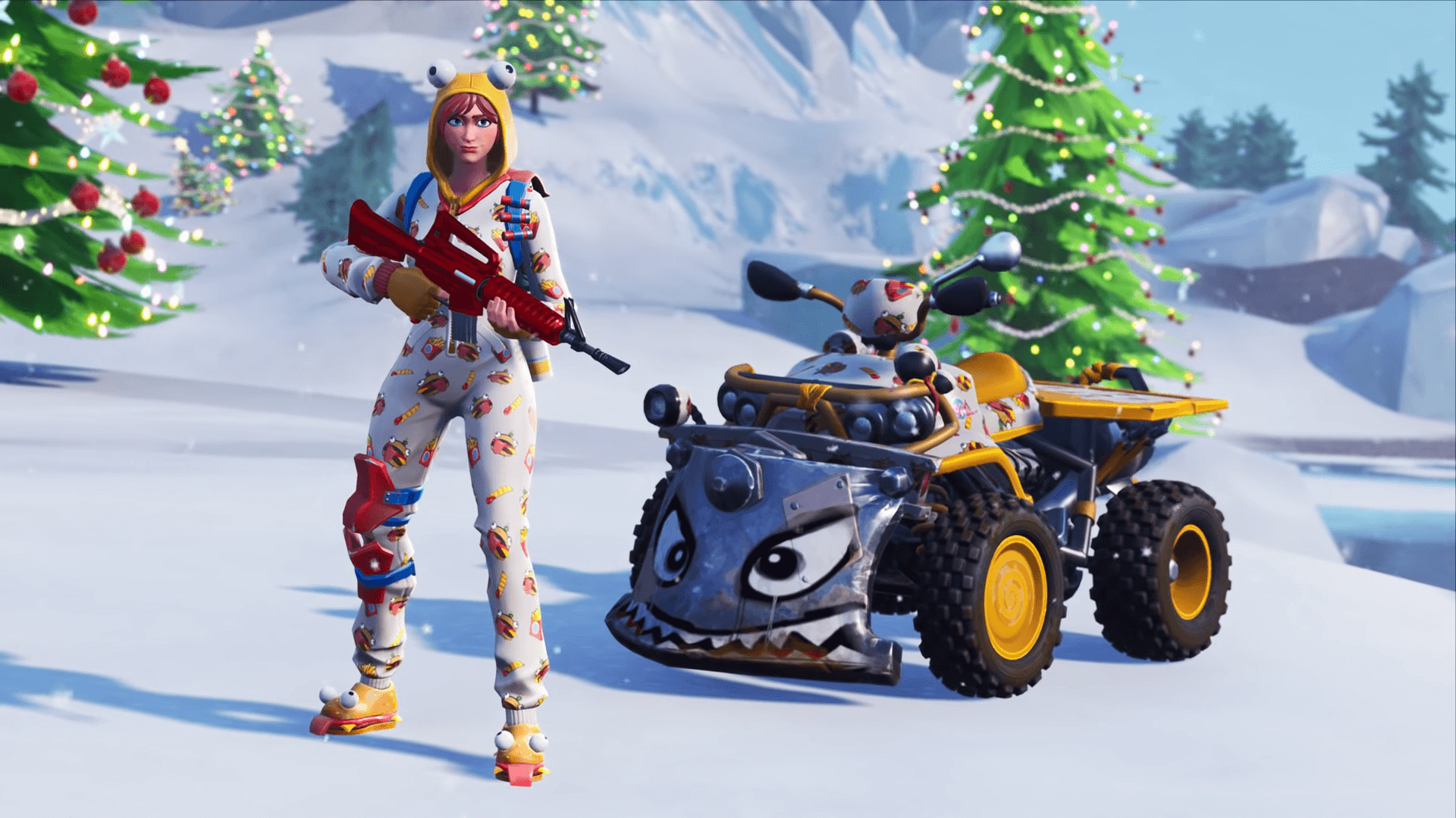 Fortnite Gets Weapon And Vehicle Skins Called Wraps In Season 7