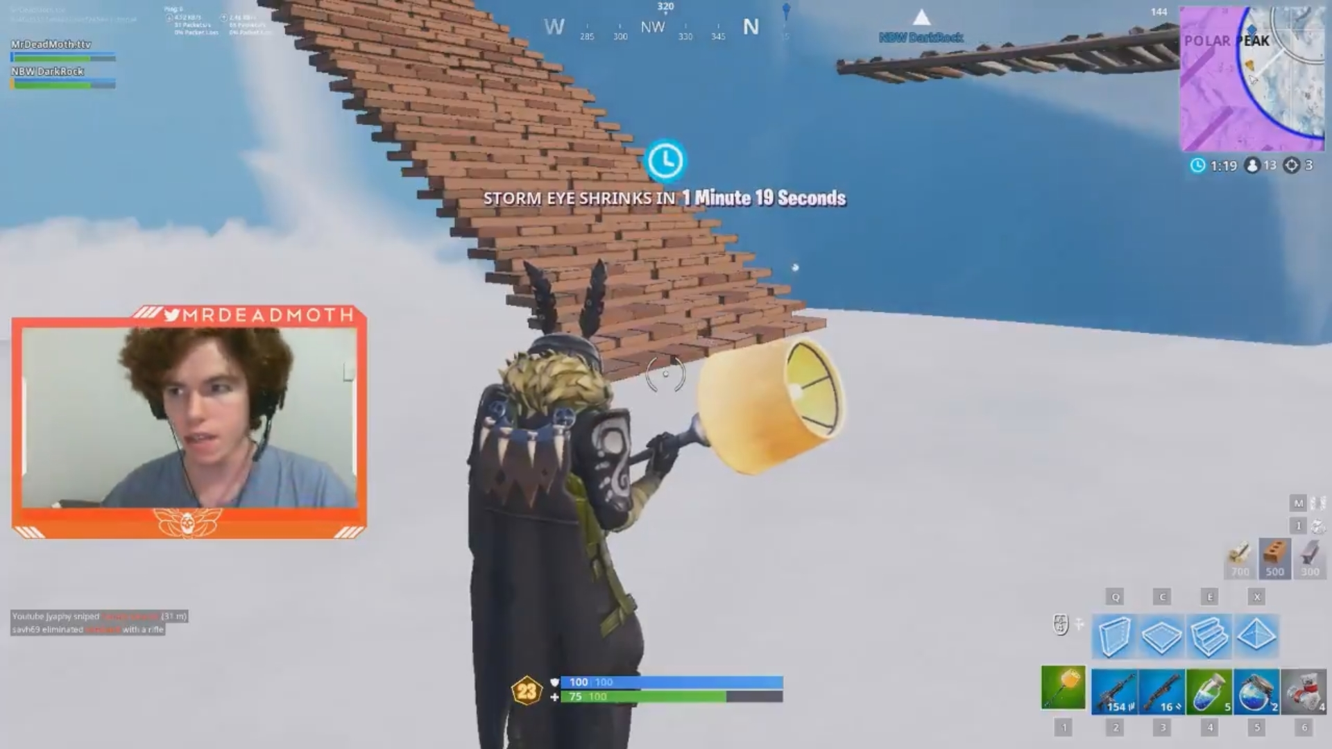 Fortnite streamer arrested after seemingly hitting wife on Twitch