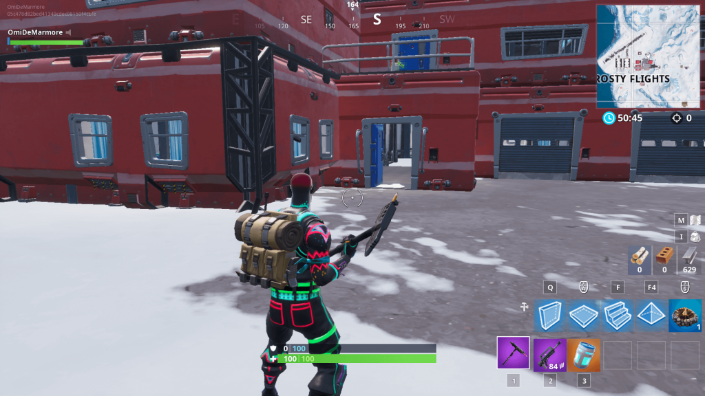 Fortnite: Season 7, Week 2 Secret Banner Location (Snowfall Challenge Guide)