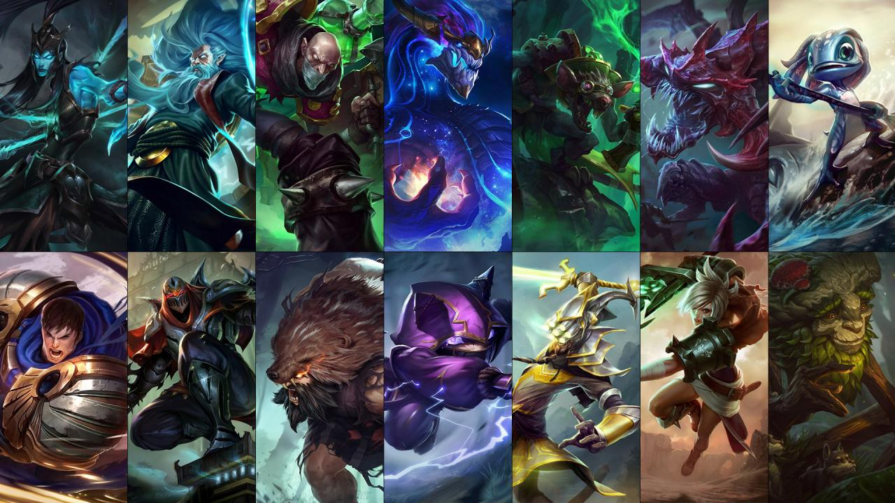 New free champion rotation: Elise, Kled, Jinx & more ...