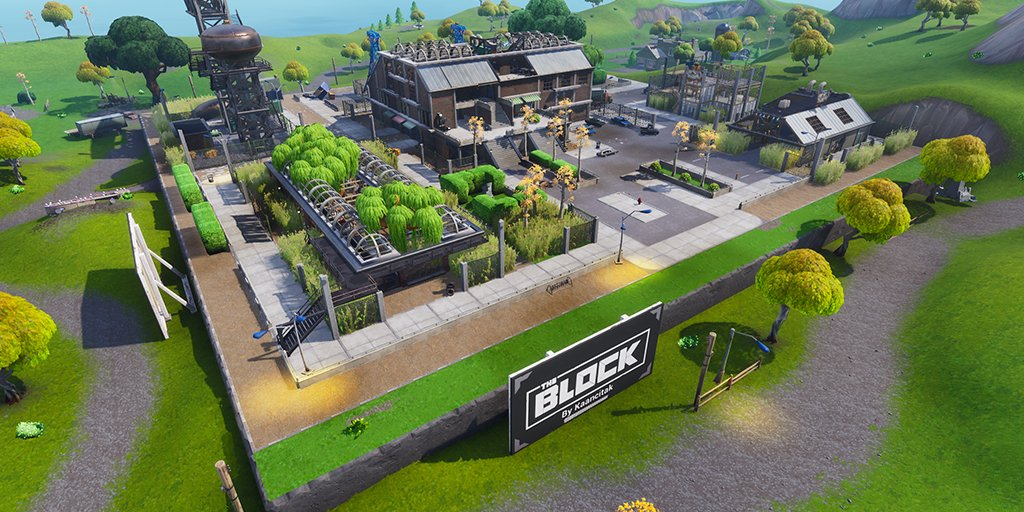 Grimy Greens will be the first fan-made area featured in Fortnite's