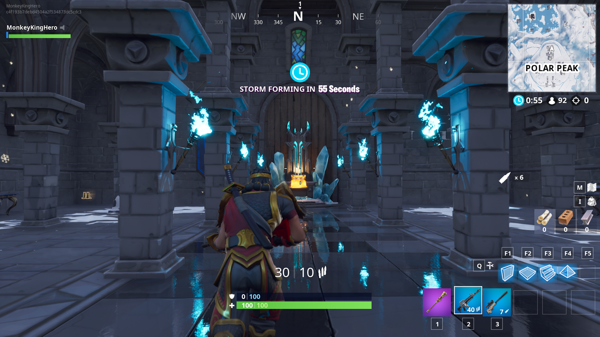 Ice King S Castle Has A Throne Room In The Fortnite 7 10 Map Changes