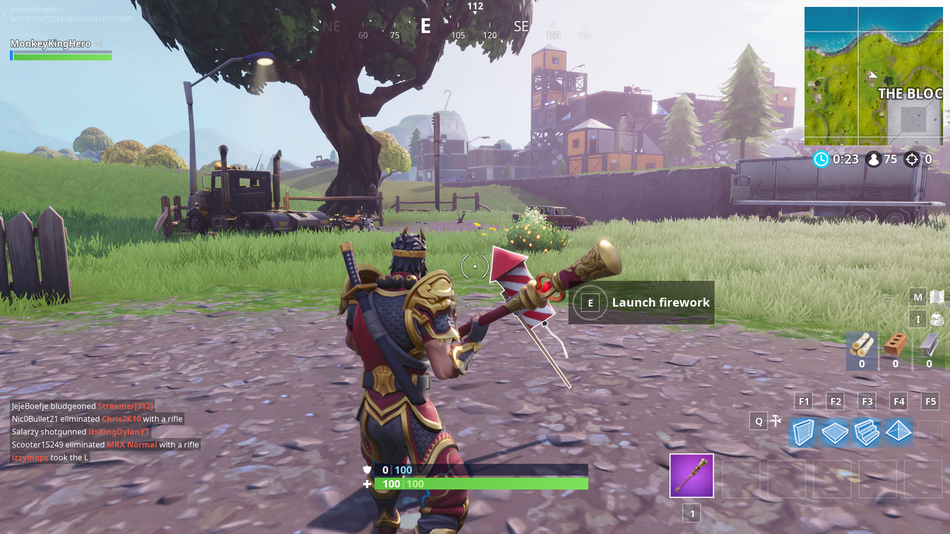 How To Complete The Launch Fireworks Challenge In Fortnite Season