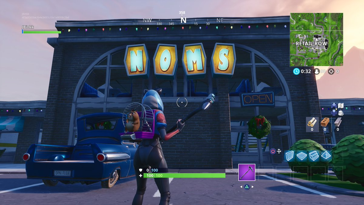 Where To Search For The Noms Letters To Complete The Fortnite Season