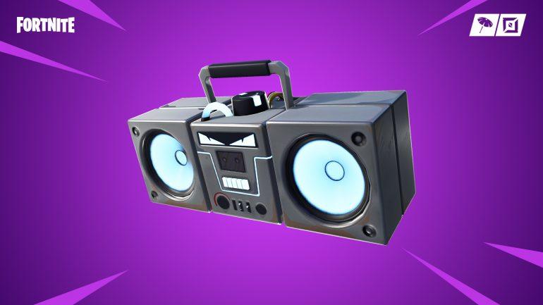 Fortnite boombox