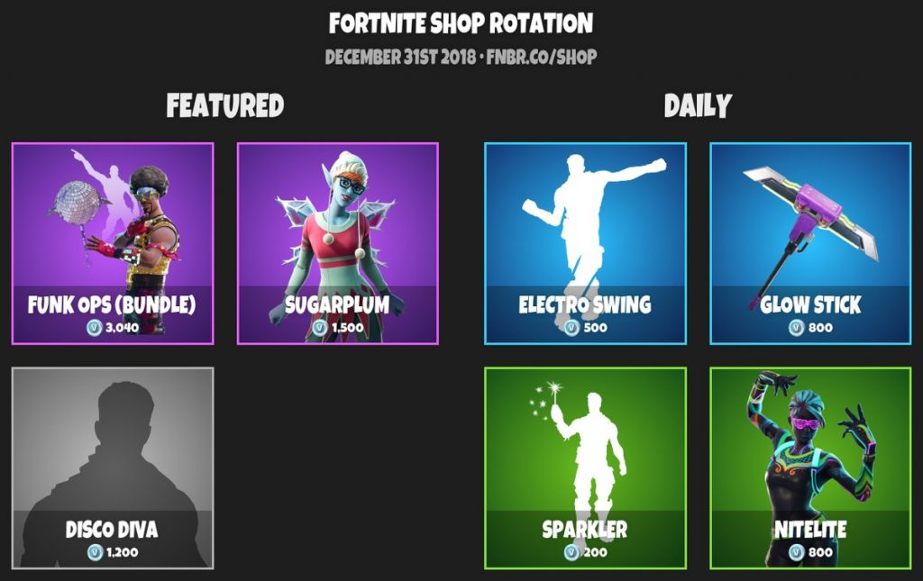 Fortnite Featured And Daily Item Updated Each Day