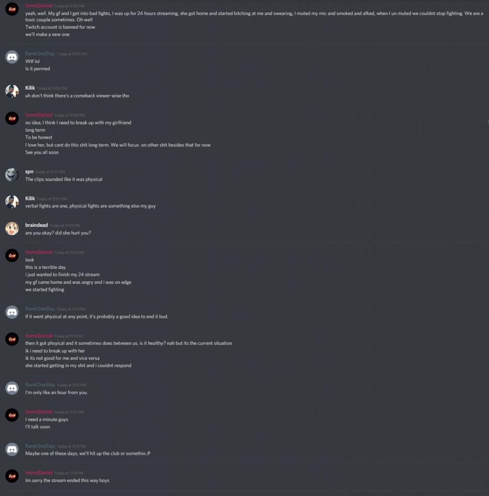 Twitch streamer homoGanja allegedly assaults girlfriend on stream
