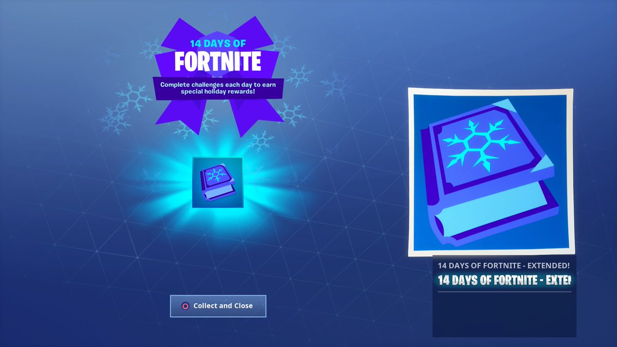 14 days of fortnite event is live once again - fortnite special event 2019