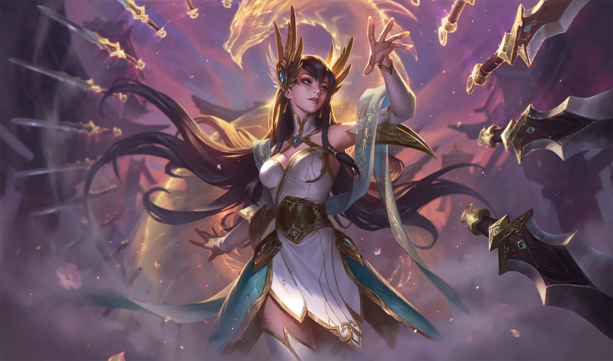 Irelia's changes on the League PBE are some of the largest ...  Irelia's ch...