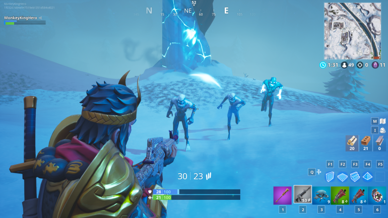 How To Complete The Destroy Ice Fiends Ice Storm Fortnite Challenge Dot Esports