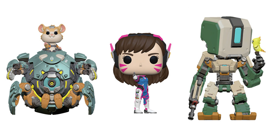 7d81d4355d8 7 new Funko Pop! Overwatch figures revealed at the London Toy Fair ...