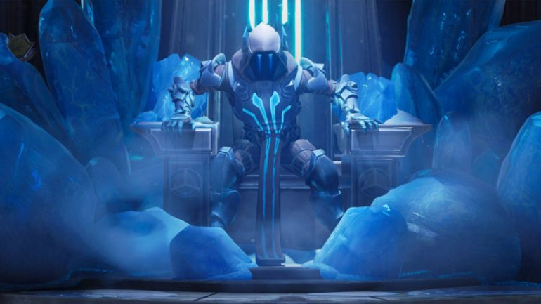 Ice King on Throne