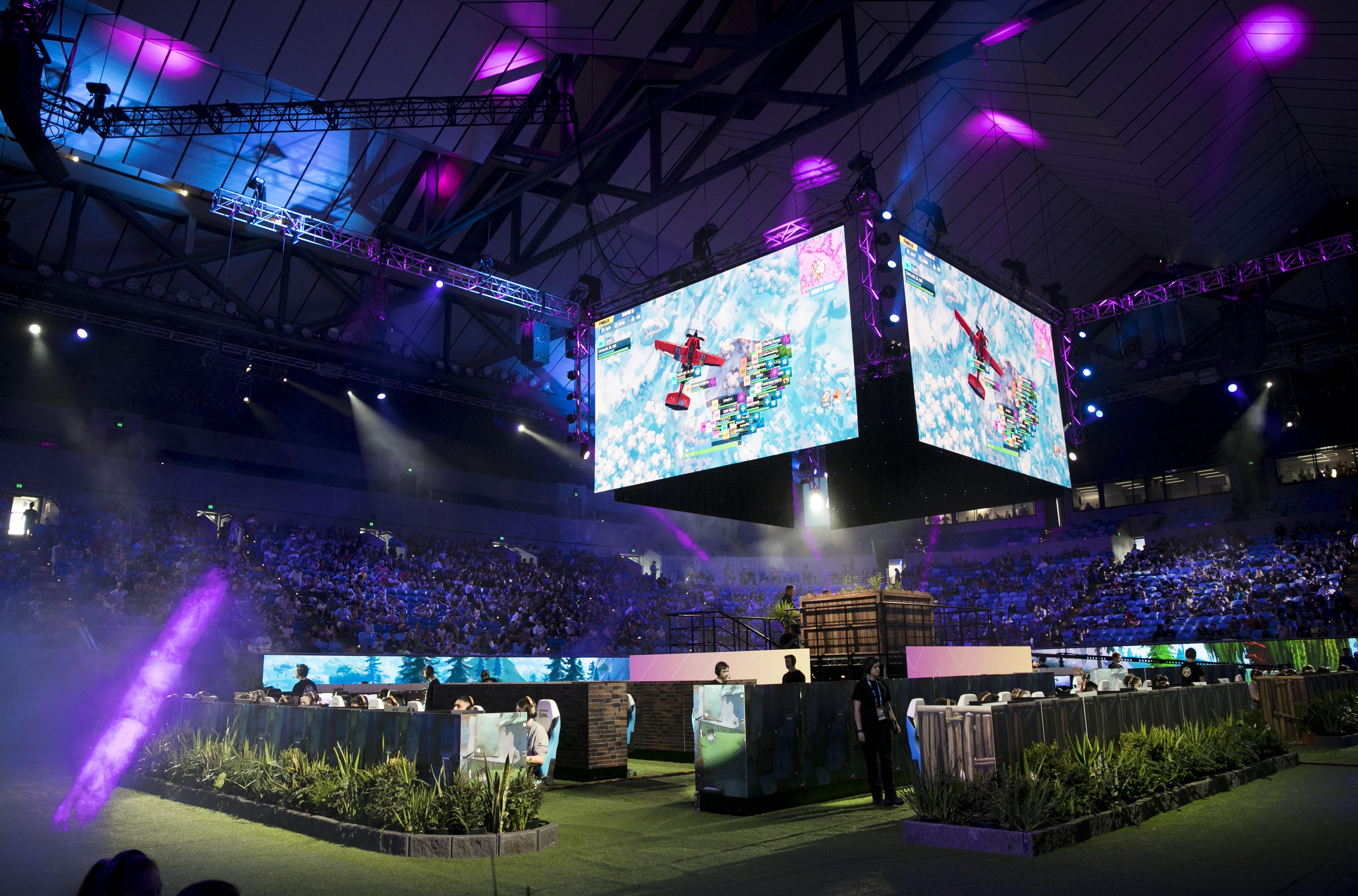 fortnite summer smashed australian open event was a hit - esports arena fortnite