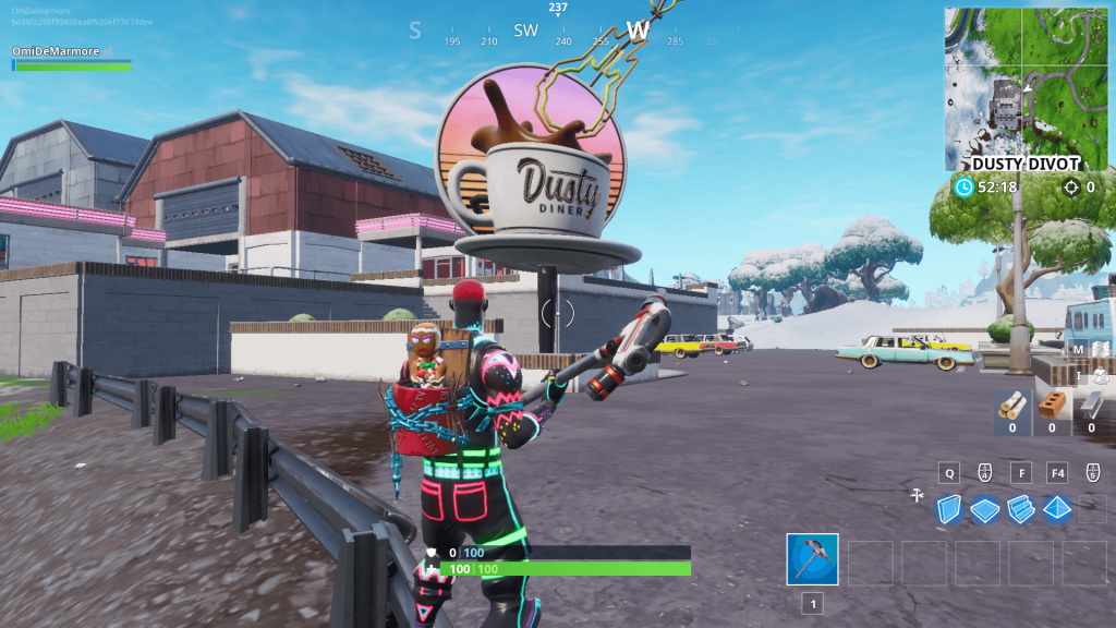 Fortnite: Where To Dance On Sundial, Metal Dog Head, Oversized Coffee