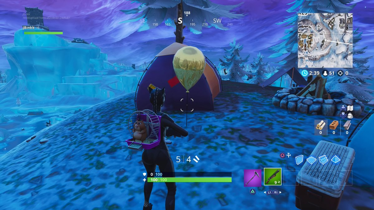 how to complete the pop 10 golden balloons fortnite season 7 week 9 challenge - where is the o in fortnite season 7 week 4
