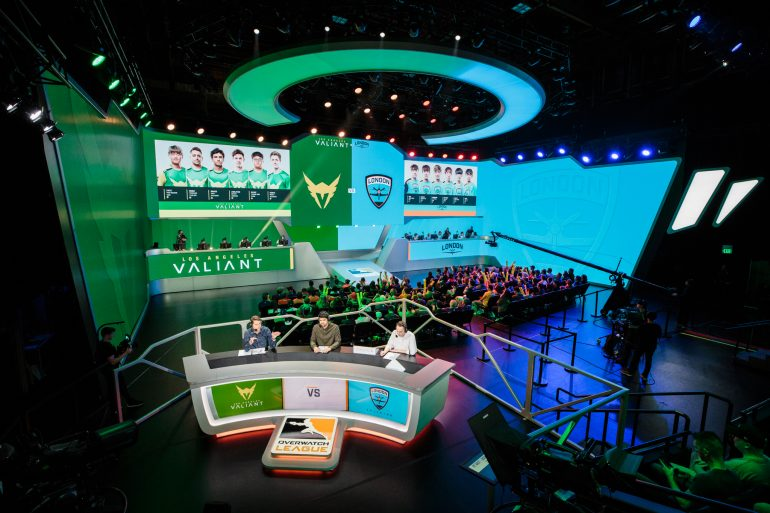 Los Angeles Valiant vs London Spitfire