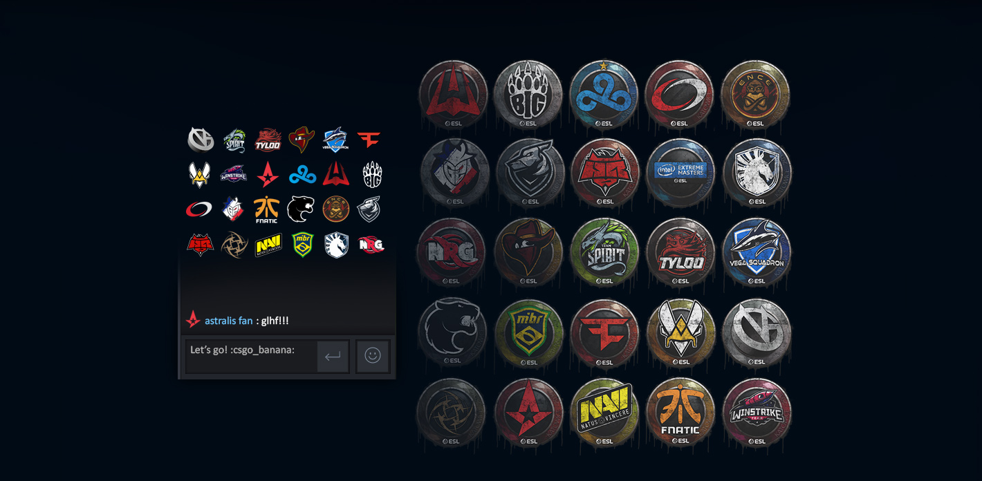 Stickers for the CS:GO IEM Katowice Major are now available, along