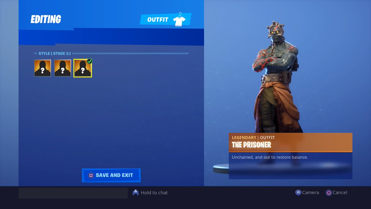 Where to unlock the Prisoner's Stage 3 skin in Fortnite
