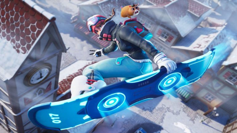Fortnite snowboard