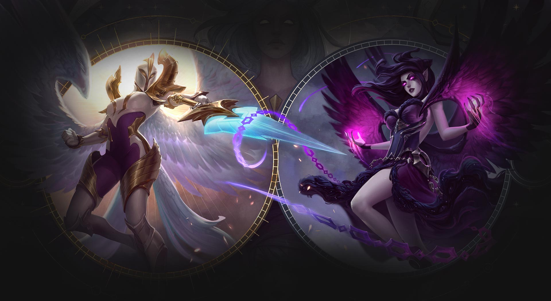 Riot Games unveil Kayle and Morgana's new champion updates