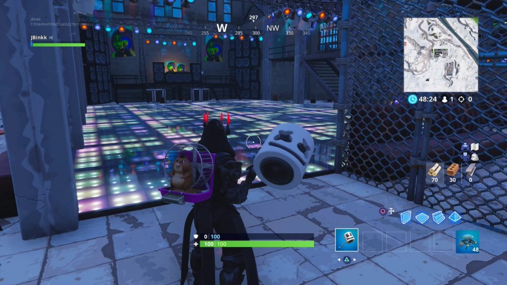 Where To Find Fortnite S Racetrack And Dance Club For The Overtime