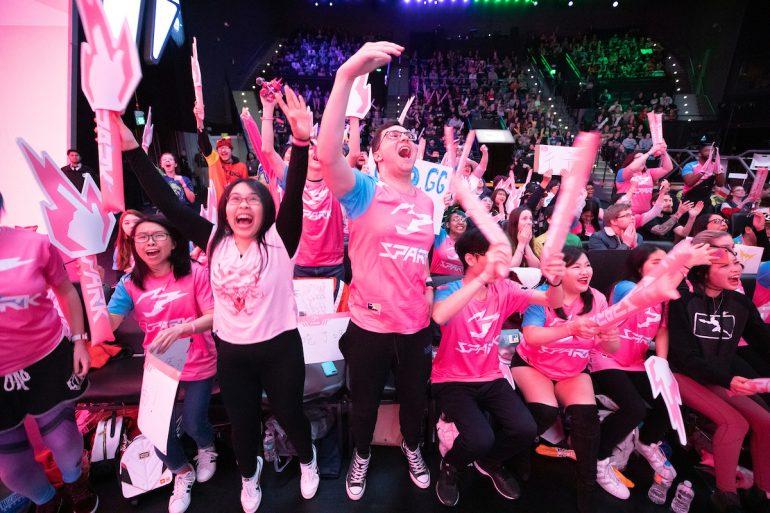 Hangzhou Spark fans