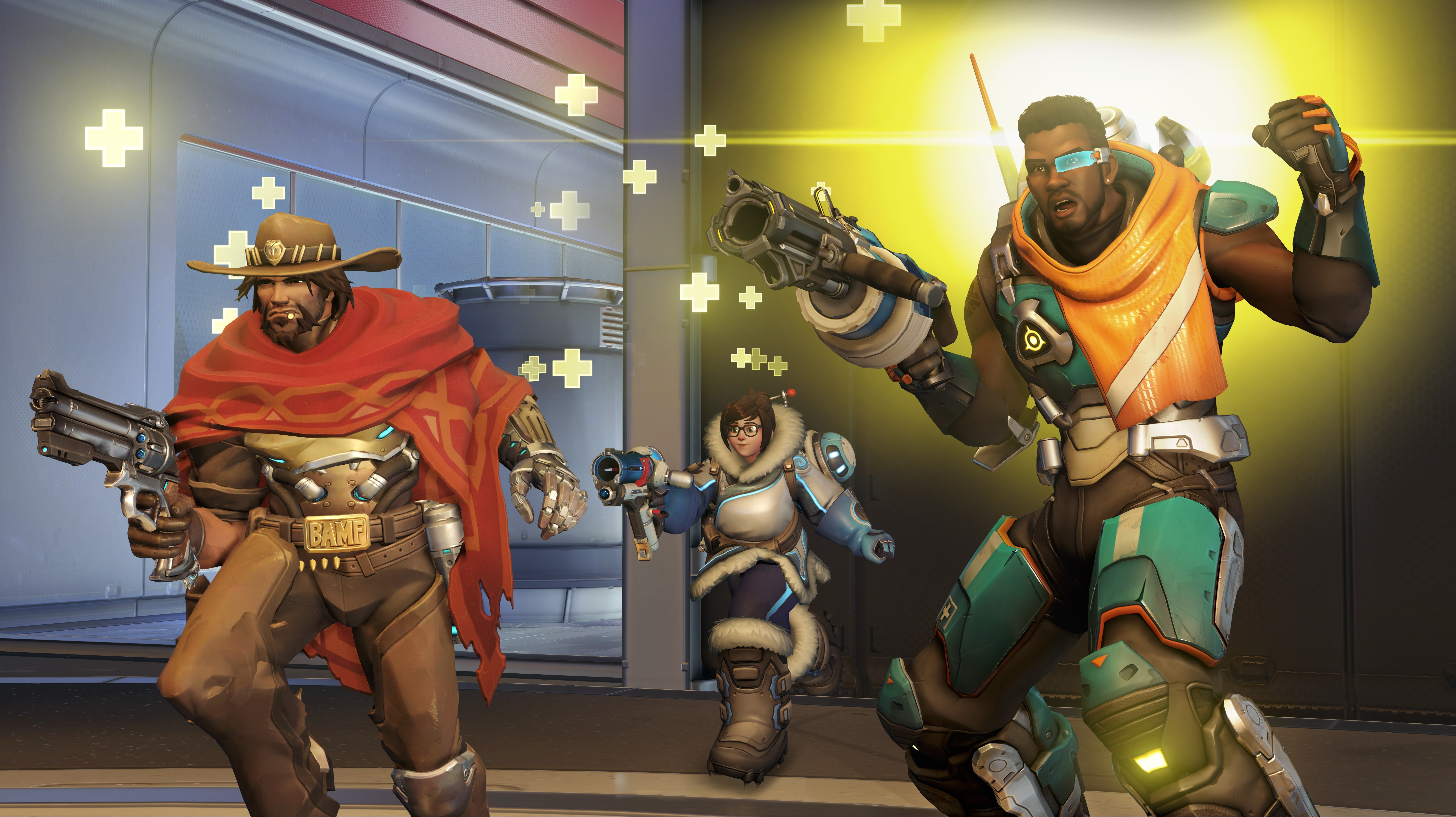 Baptiste, New Support Hero Added to Overwatch PTR