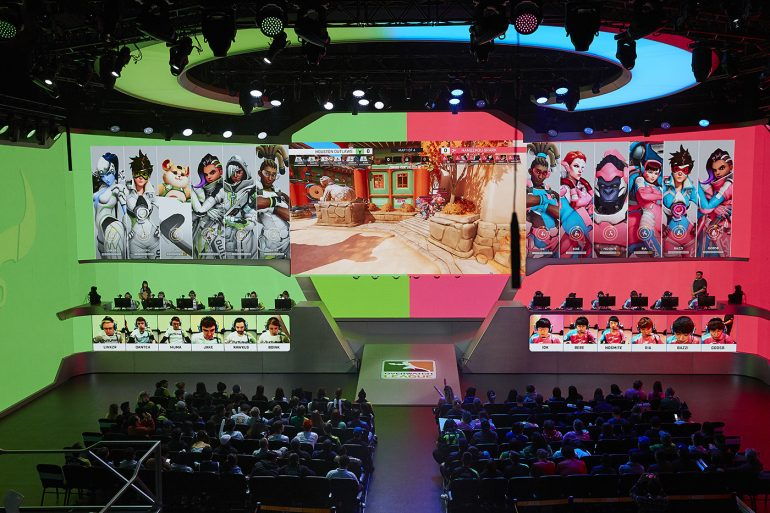 Houston Outlaws vs Hangzhou Spark Wide View