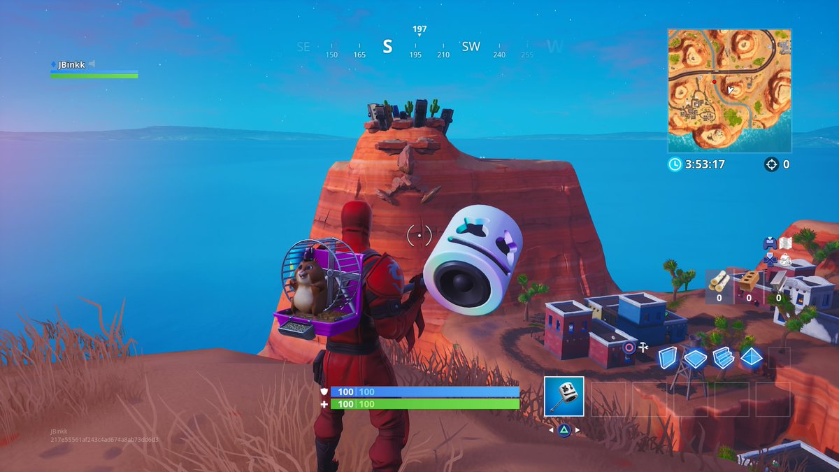 Giant face locations fortnite