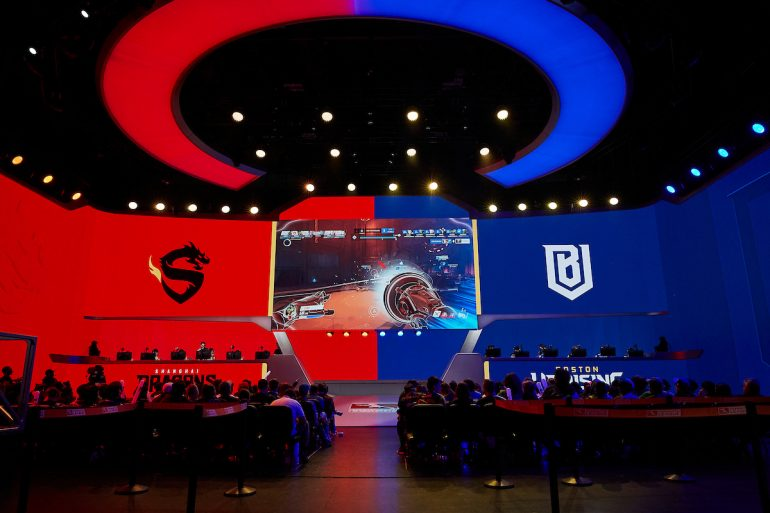 Shanghai Dragons vs Boston Uprising wide view